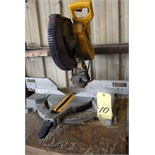 "BENCH TYPE MITER SAW, DEWALT 12"", 120 v."