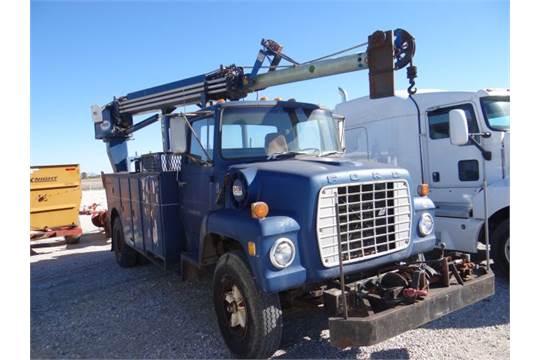 Ford Truck Mounted Pitman Digger-Derrick Crane Boom