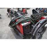 LINCOLN POWER FEED 84 WIRE FEEDER ON CART