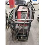 LINCOLN INVERTEC V350-PRO WELDER W/ LINCOLN COBRAMATIC K1587-1 SPOOLGUN WIRE FEED UNIT W/ CART