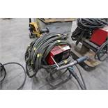 LINCOLN LN-7 WIRE FEEDER ON CART