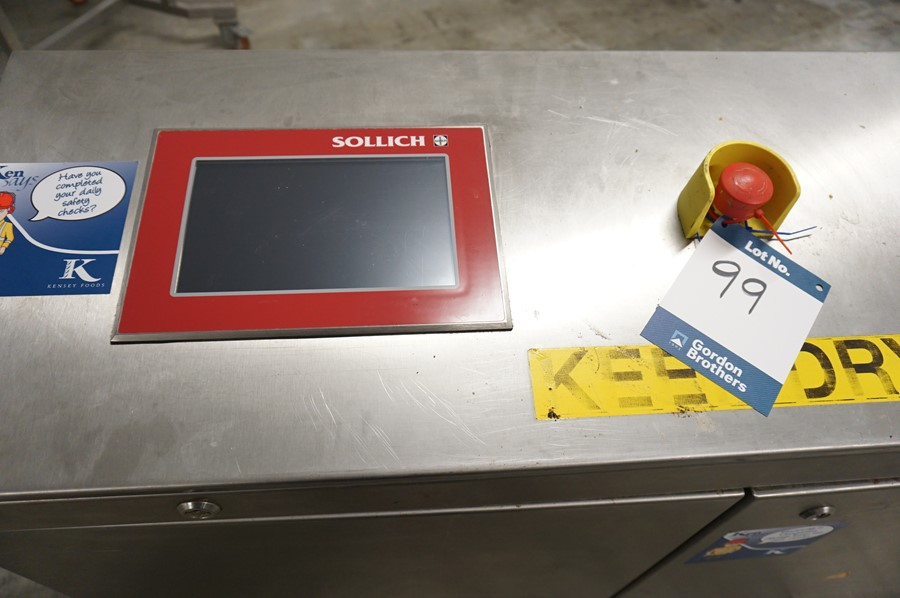 Lot 99 - Sollich Chocolate Decorating System Comprisng: Decomatic / DC4-620, chocolate decorating machine,