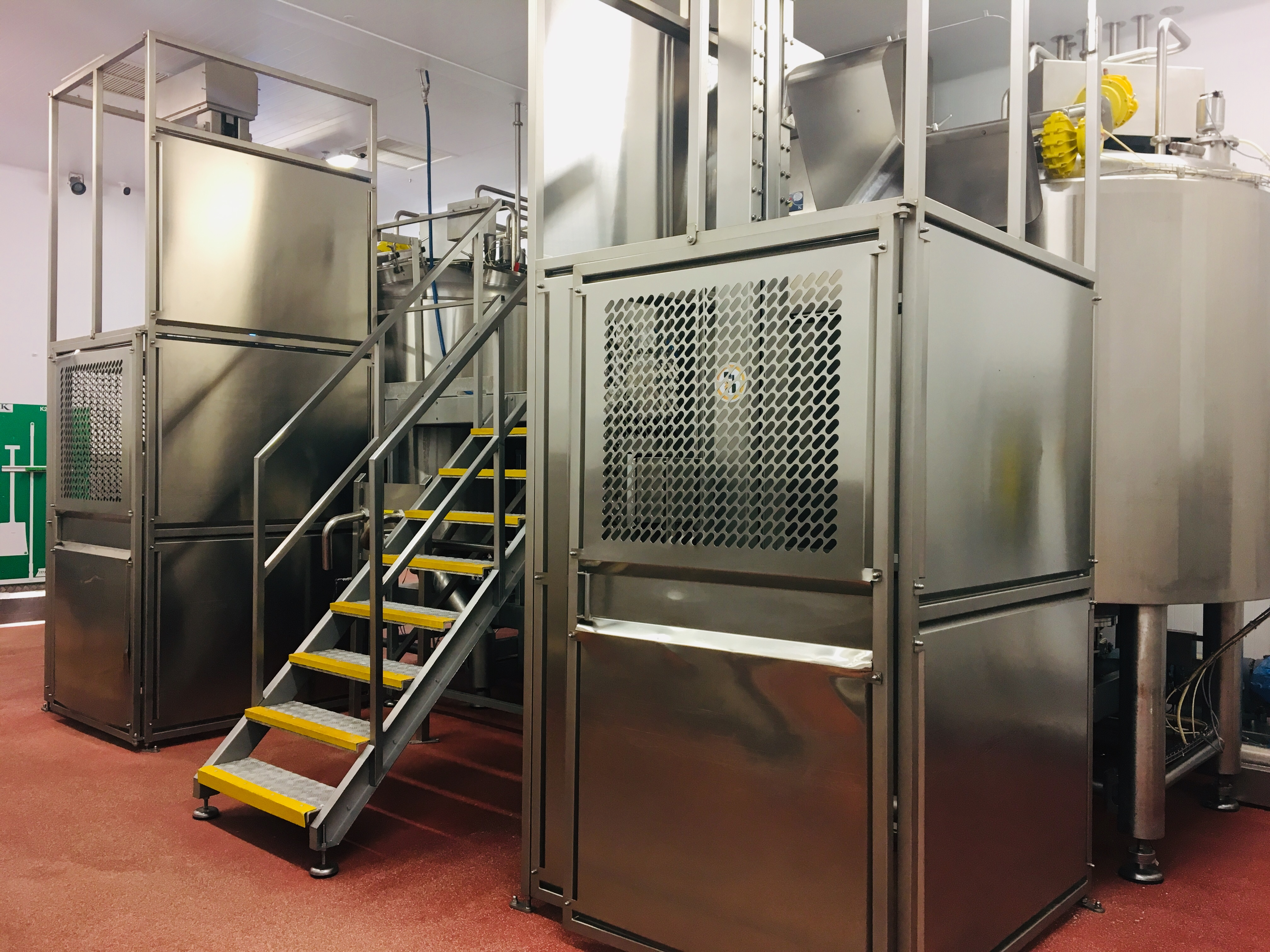 Lot 150 - Scanima Twin Vat Cooking Station Comprising: 2 x SPM 2700 jacketed pressurised cooking vats,