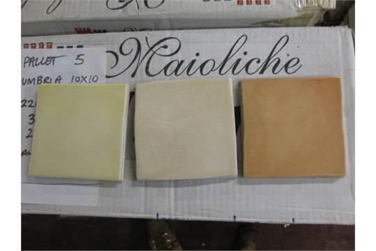 Pallet Containing – Maioliche Dell Umbria 100mm x 100 Ceramic Tiles ...