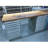 "Lista 30"" X 72"" Wood Top Table"