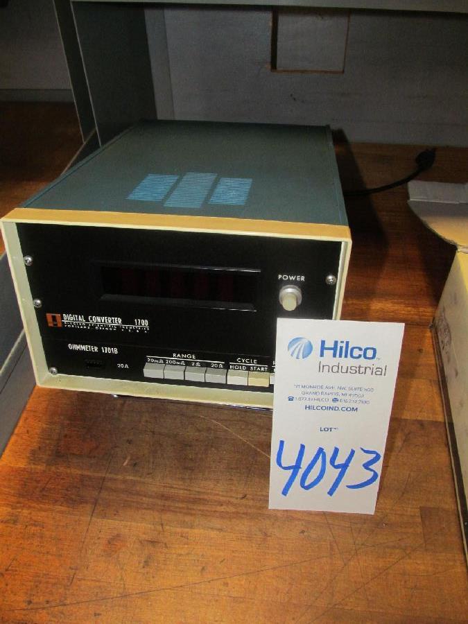OSI Model 1701B Digital Ohmmeter