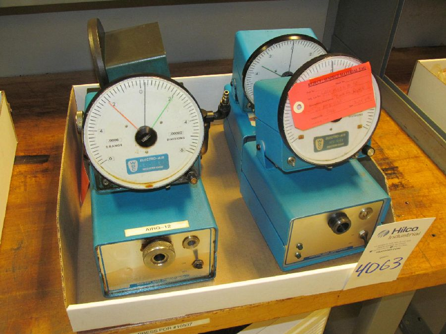 Lot 4063 - Western Gage Model Micro Air Air Comparators