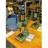 Mecco Model MC-19 Bench Top Air Actuated Press