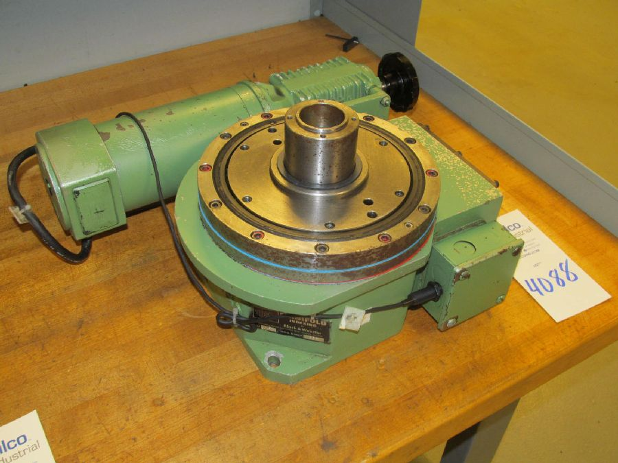 Lot 4088 - Size SX60 8-270 Manifold Index Table