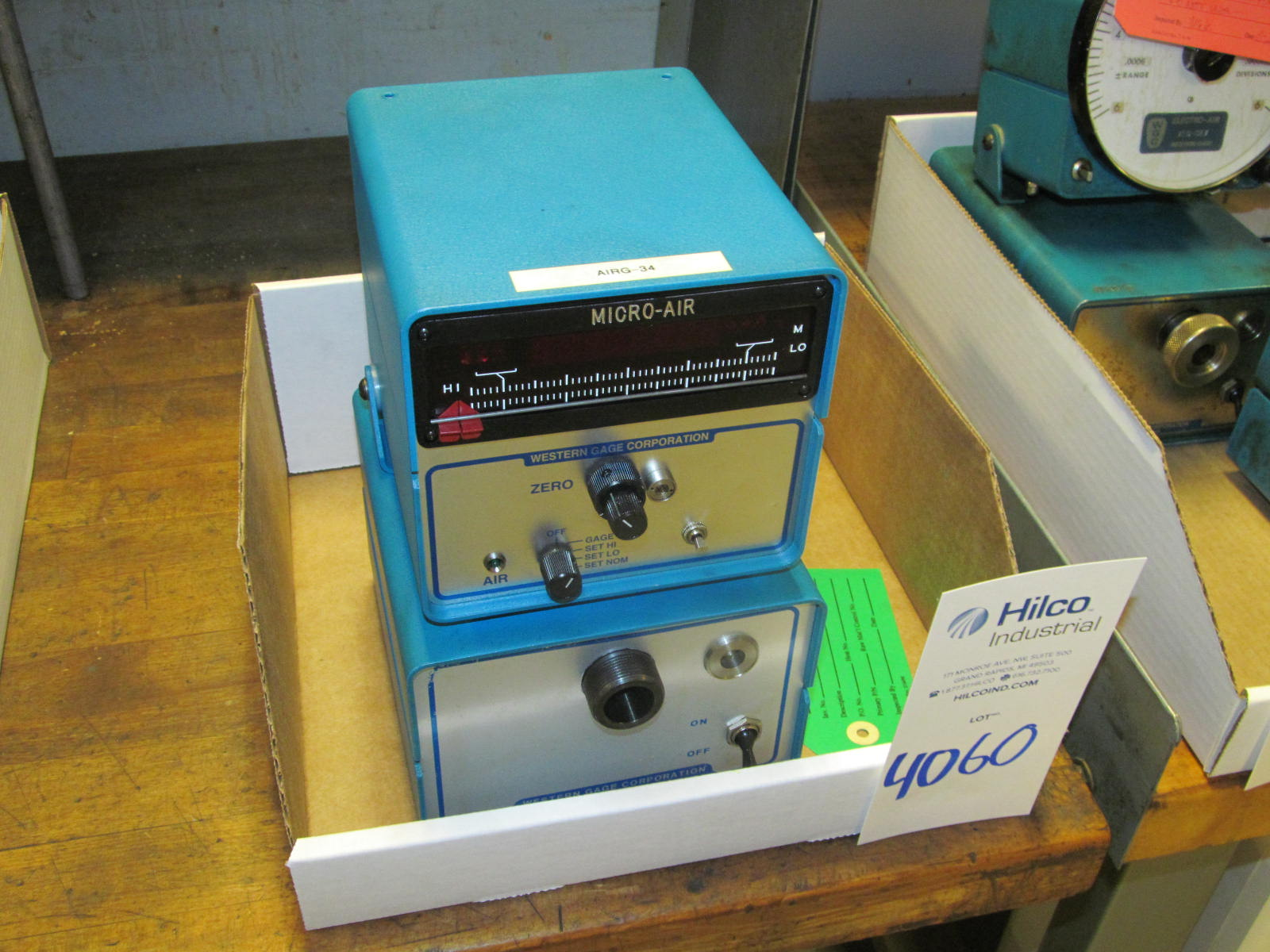 Western Gage Model Micro Air Digital Air Comparator