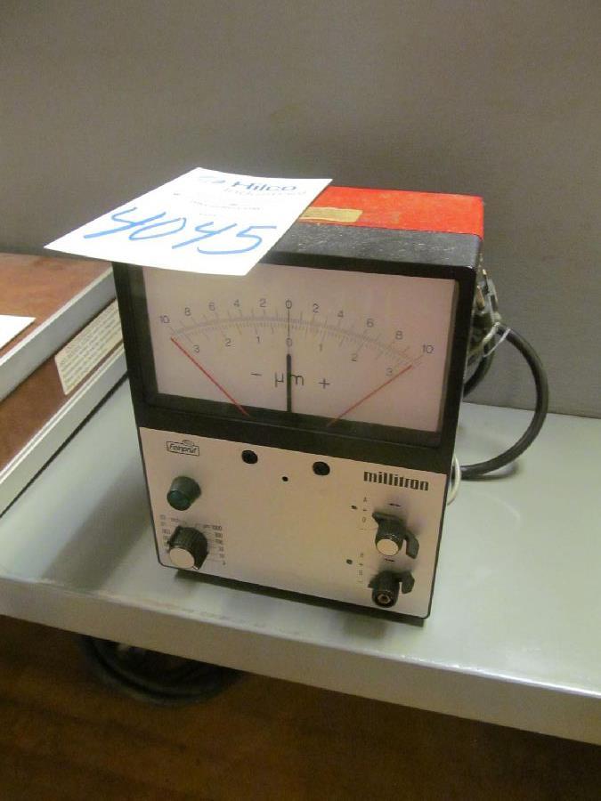 Feinpruf Model 1202 IC/Z Millatron Meter
