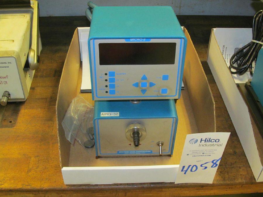 Lot 4058 - Western Gage Model Micro II Digital Air Comparator