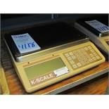 Model KS1 K-Scale, Digital Bench Top Scale