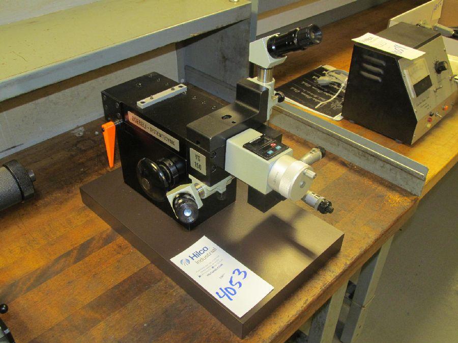 Lot 4053 - Doebeli Model VG150 Optical Inspection Unit