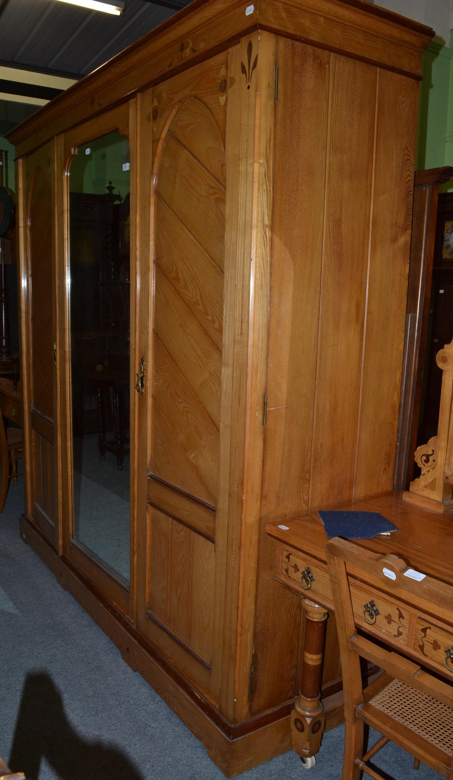 auction kitchen cabinets late bedroom suite comprising wardrobe bedside 1387