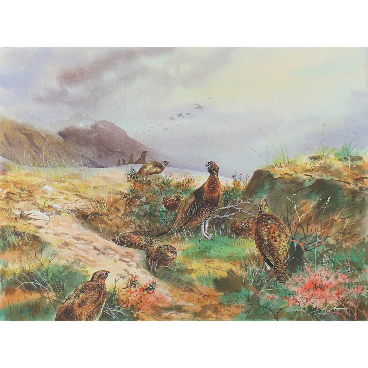 Lot 51 - Lilly, Ken 1929-1996 British AR, Two Watercolours.