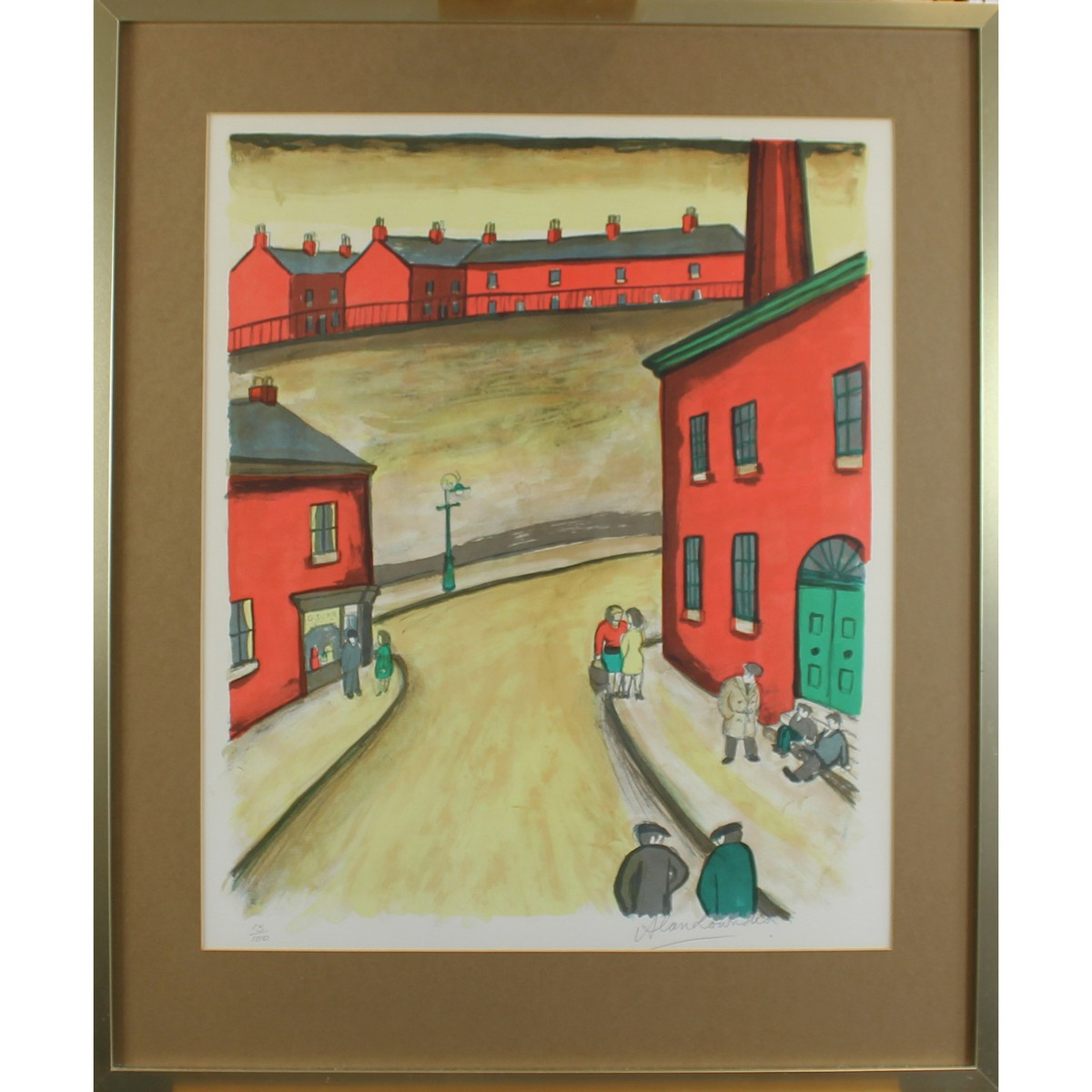 Lot 28 - Lowndes, Alan Bailey 1921-1978 British AR, Stockport