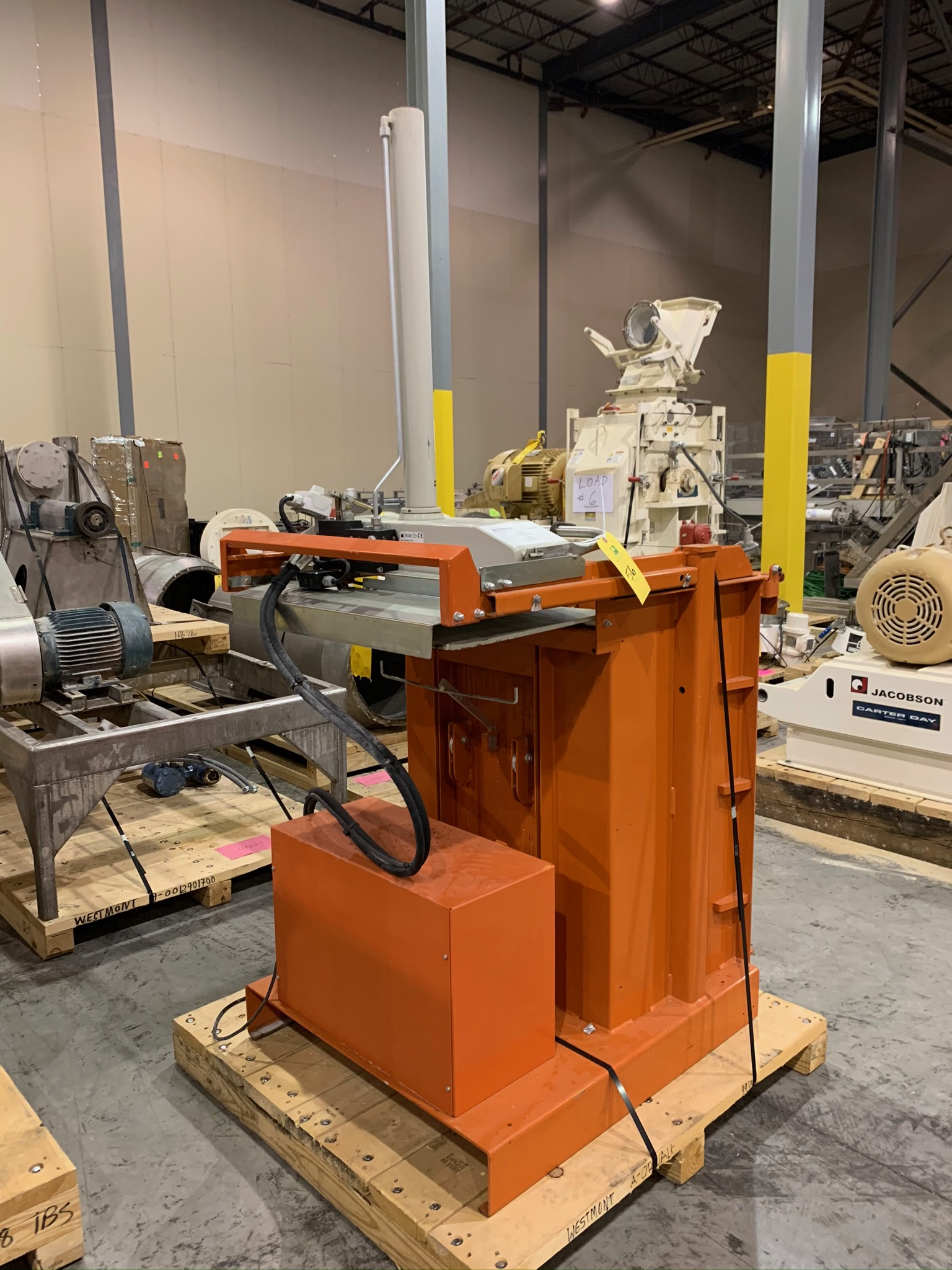 Orwak Compactor Model Compactor 5010 E S/N 103771 (Rigging Fee - $50) - Image 4 of 4