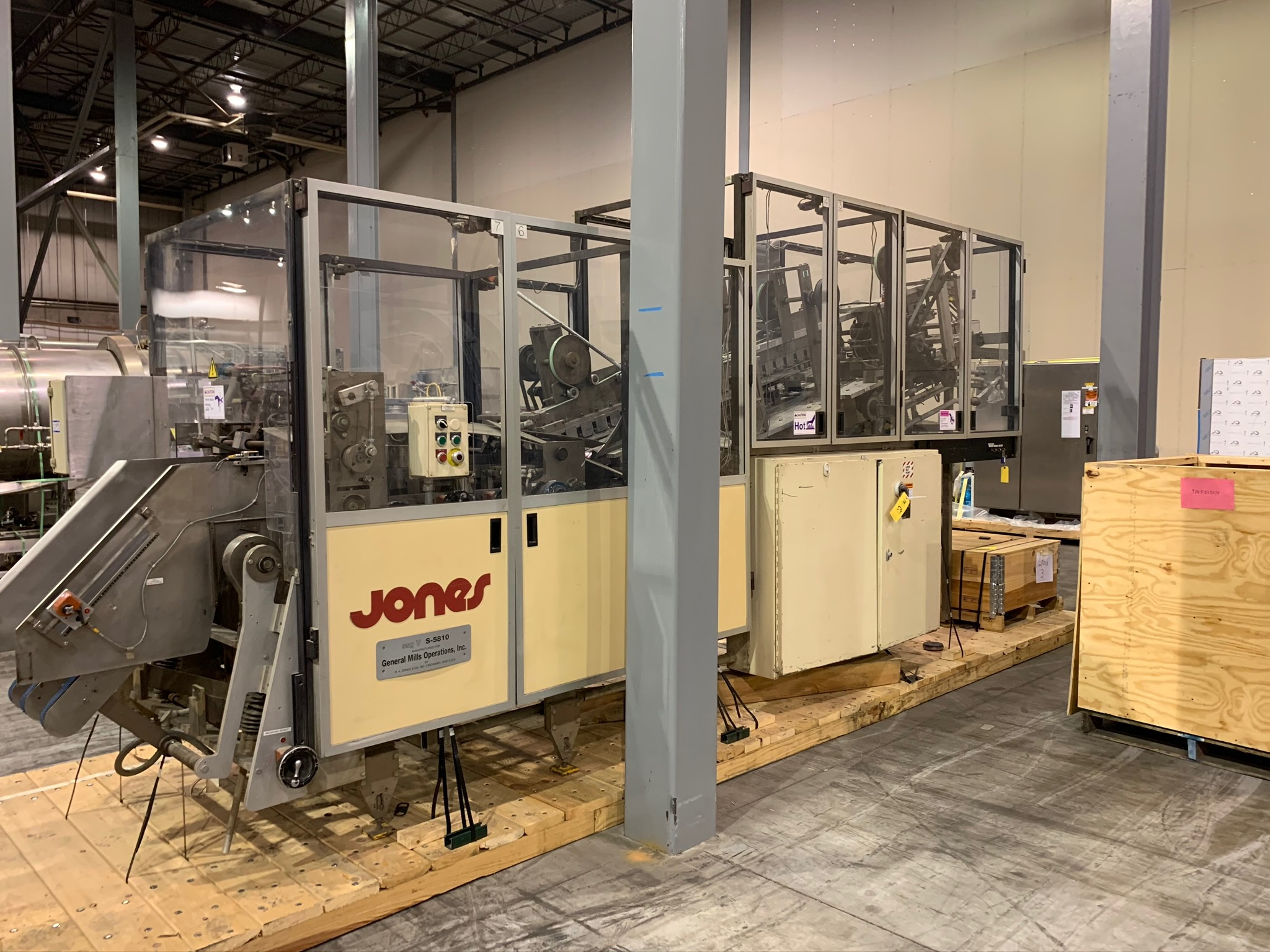 Jones Centurion Side Seam Gluer S/N S-5810 (Rigging Fee - $250) - Image 2 of 8