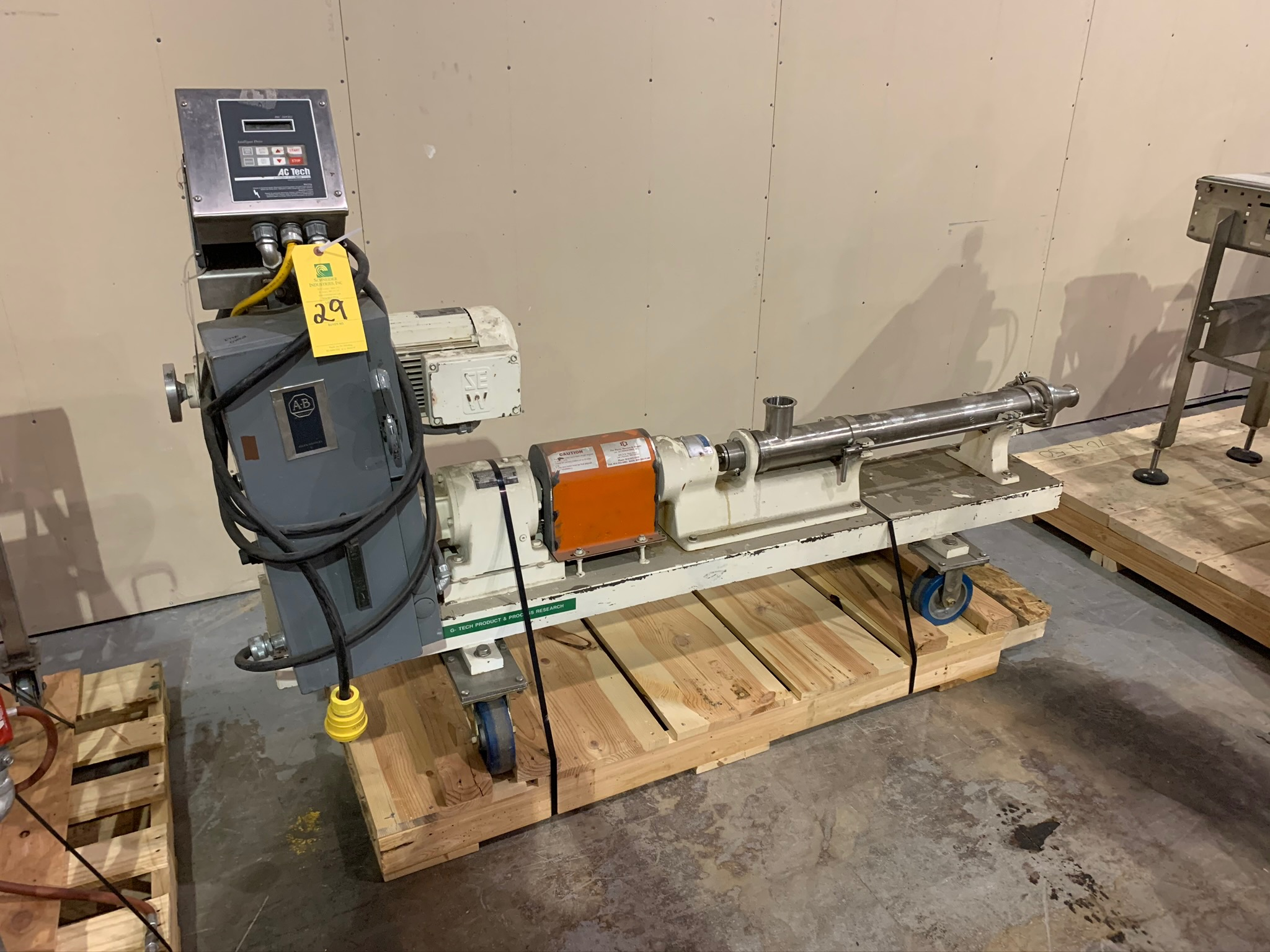 Moyno Progressing Cavity Pump Type 2FF6 SSE FAA S/N AM23758 (Rigging Fee - $50) - Image 2 of 5