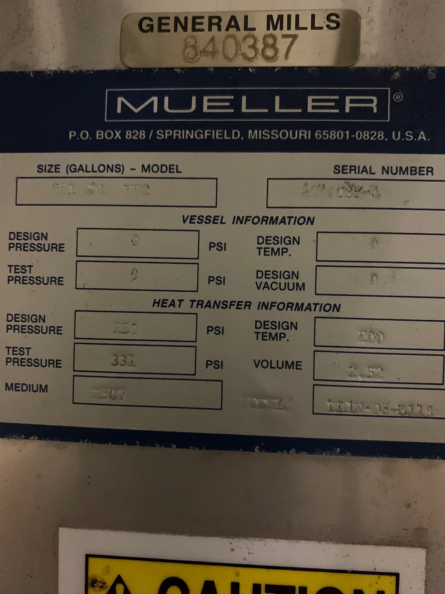 Mueller Water Chiller Model LLIN-06-B113 S/N 1206035-1 (Rigging Fee - $500) - Image 5 of 6