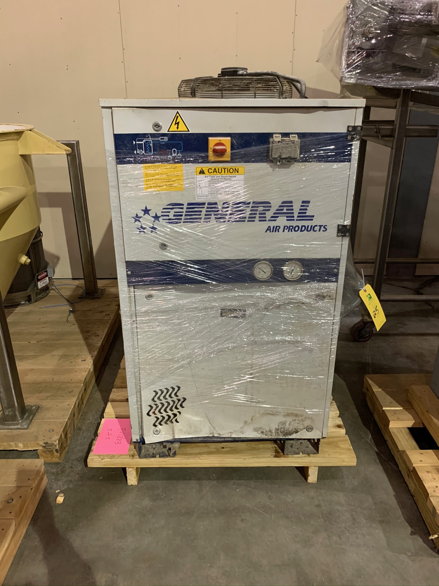 Clextral Extruder Model BC4 S/N 5100909 with Contol Panel and Air Dryer (Rigging Fee - $500) - Image 5 of 7