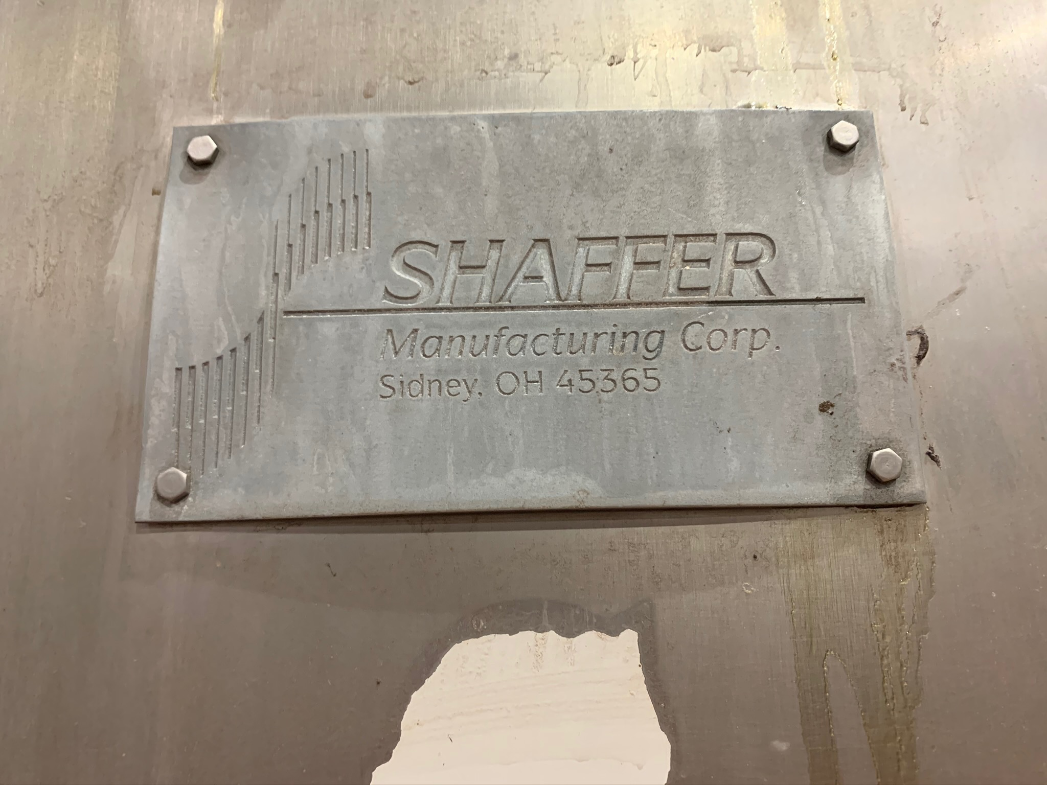 Lot 42 - Schaffer Single Sigma Blade Mixer Model 7SS S/N 1090116 (Rigging Fee - $1350)