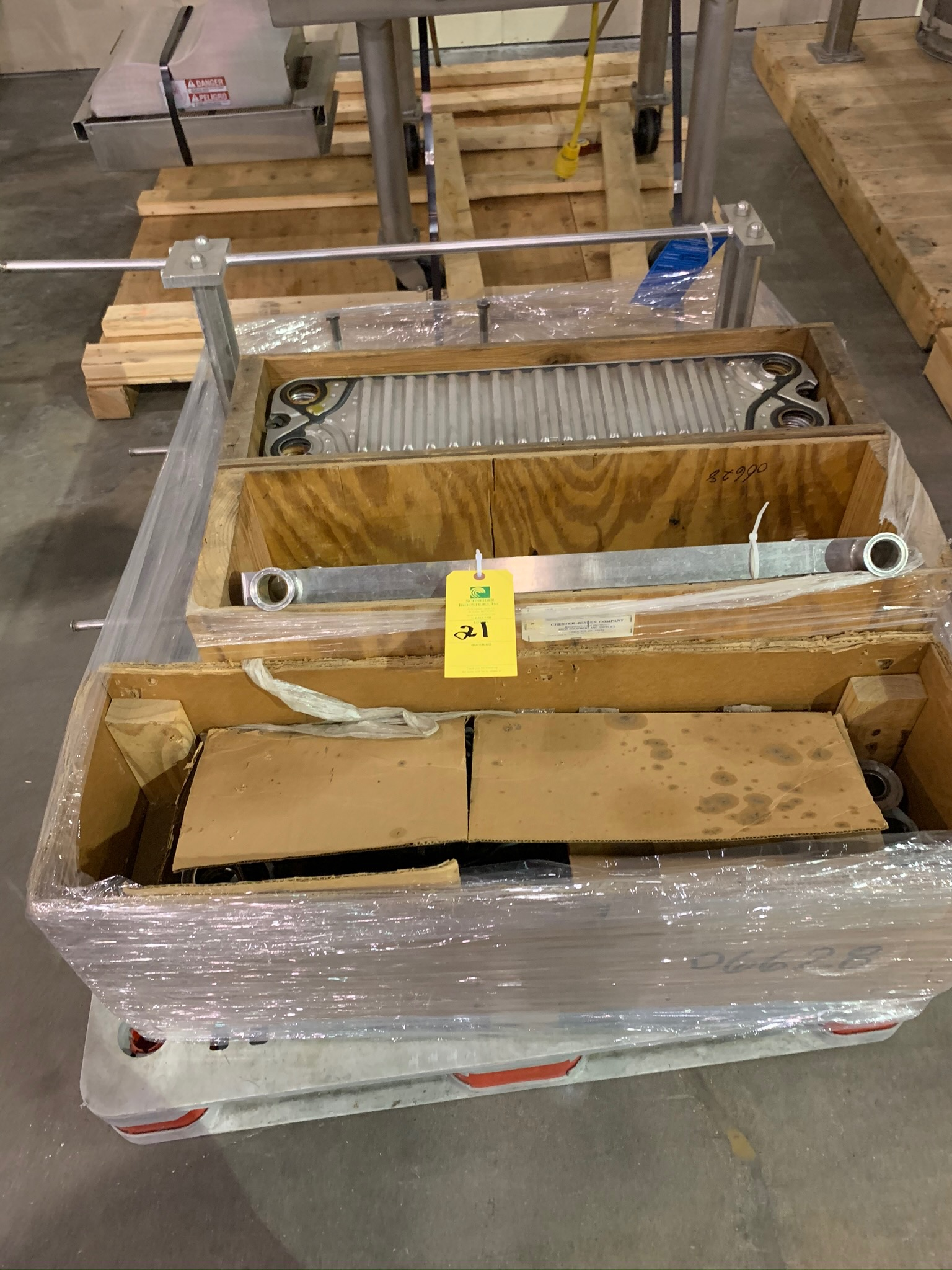 Chester Jensen Plate Heat Exchanger (Rigging Fee - $50)
