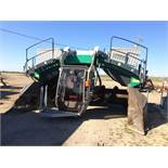 (Located In Sacramento, CA) Komptech Topturn X53 Turner S/N 115124 Indicated Hours 1,865.8 (Loading