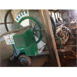 (Located In Sacramento, CA) Bauer Hose Reel Model 65TXP S/N 00XT41114 (Loading at Buyers Cost)