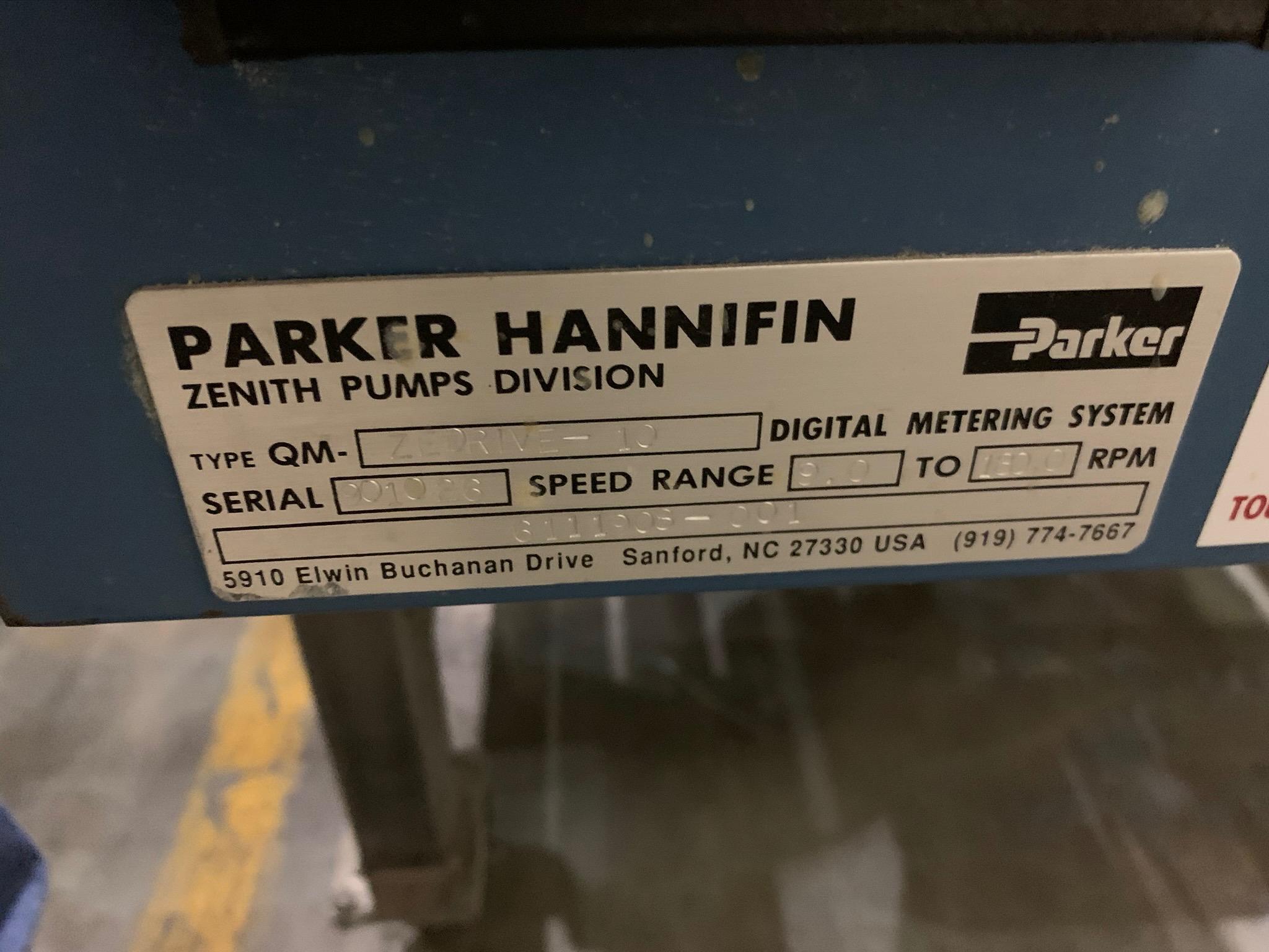 Parker Hannifin Zenith Pump Type QM-ZEDrive 10 S/N 901026 (Rigging Fee - $50) - Image 5 of 6