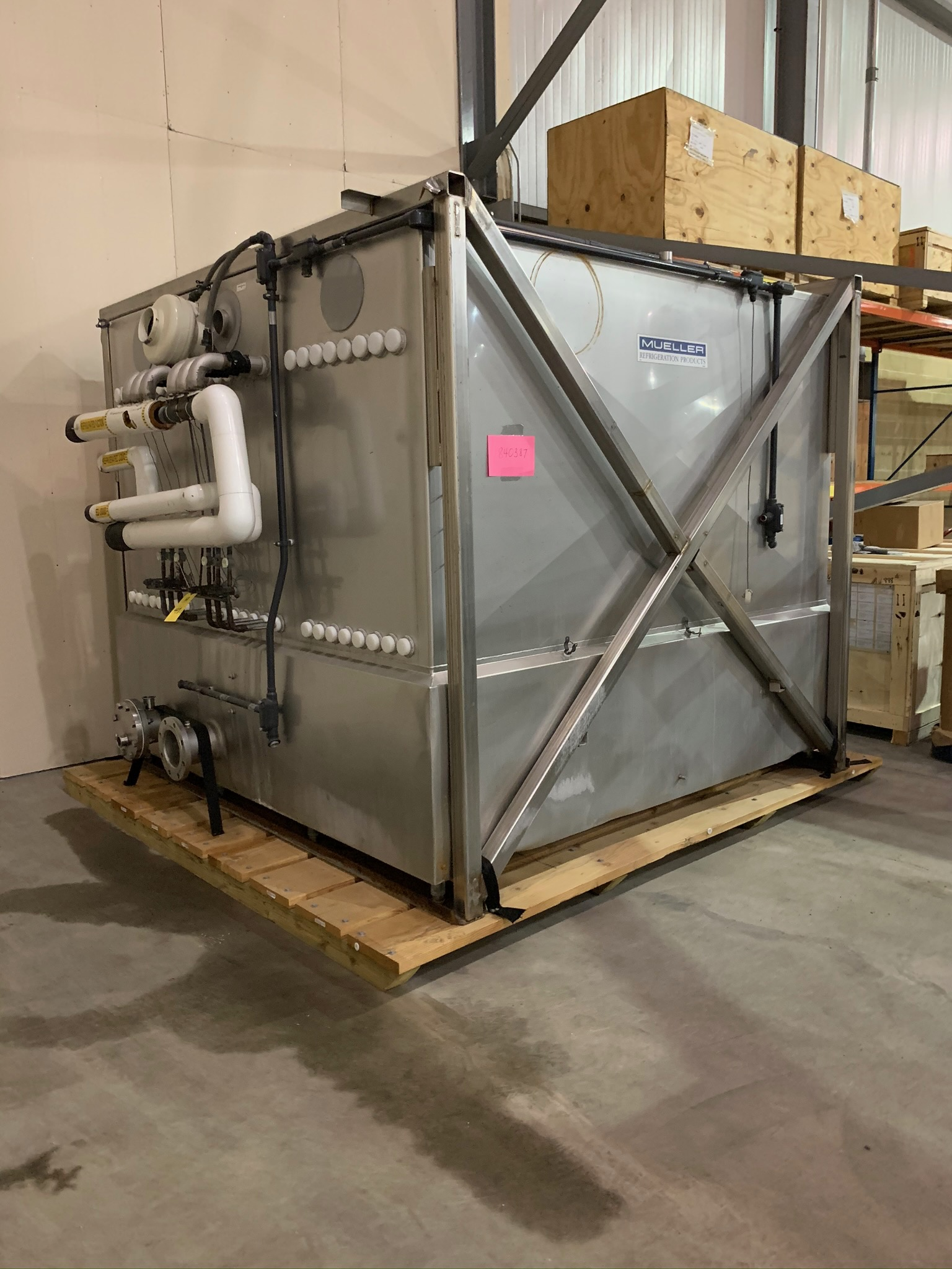 Mueller Water Chiller Model LLIN-06-B113 S/N 1206035-1 (Rigging Fee - $500) - Image 2 of 6