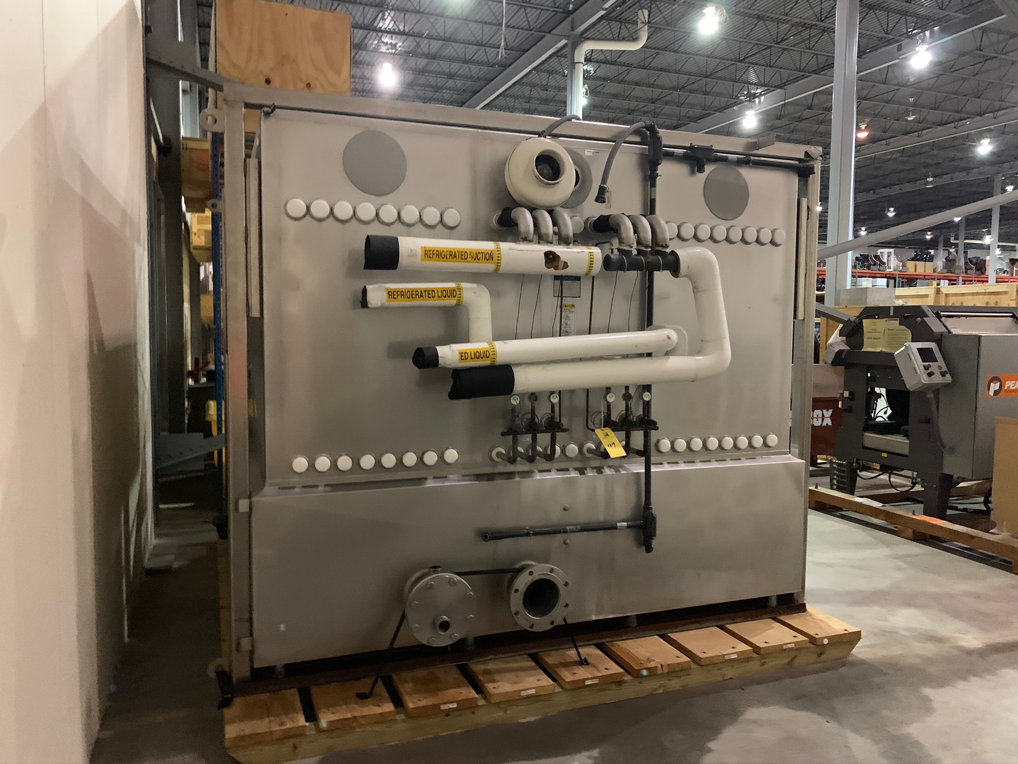 Mueller Water Chiller Model LLIN-06-B113 S/N 1206035-1 (Rigging Fee - $500) - Image 3 of 6