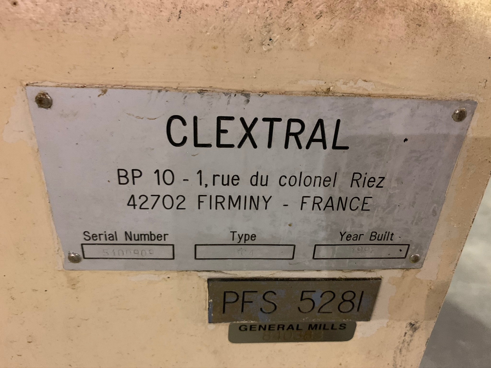 Clextral Extruder Model BC4 S/N 5100909 with Contol Panel and Air Dryer (Rigging Fee - $500) - Image 3 of 7