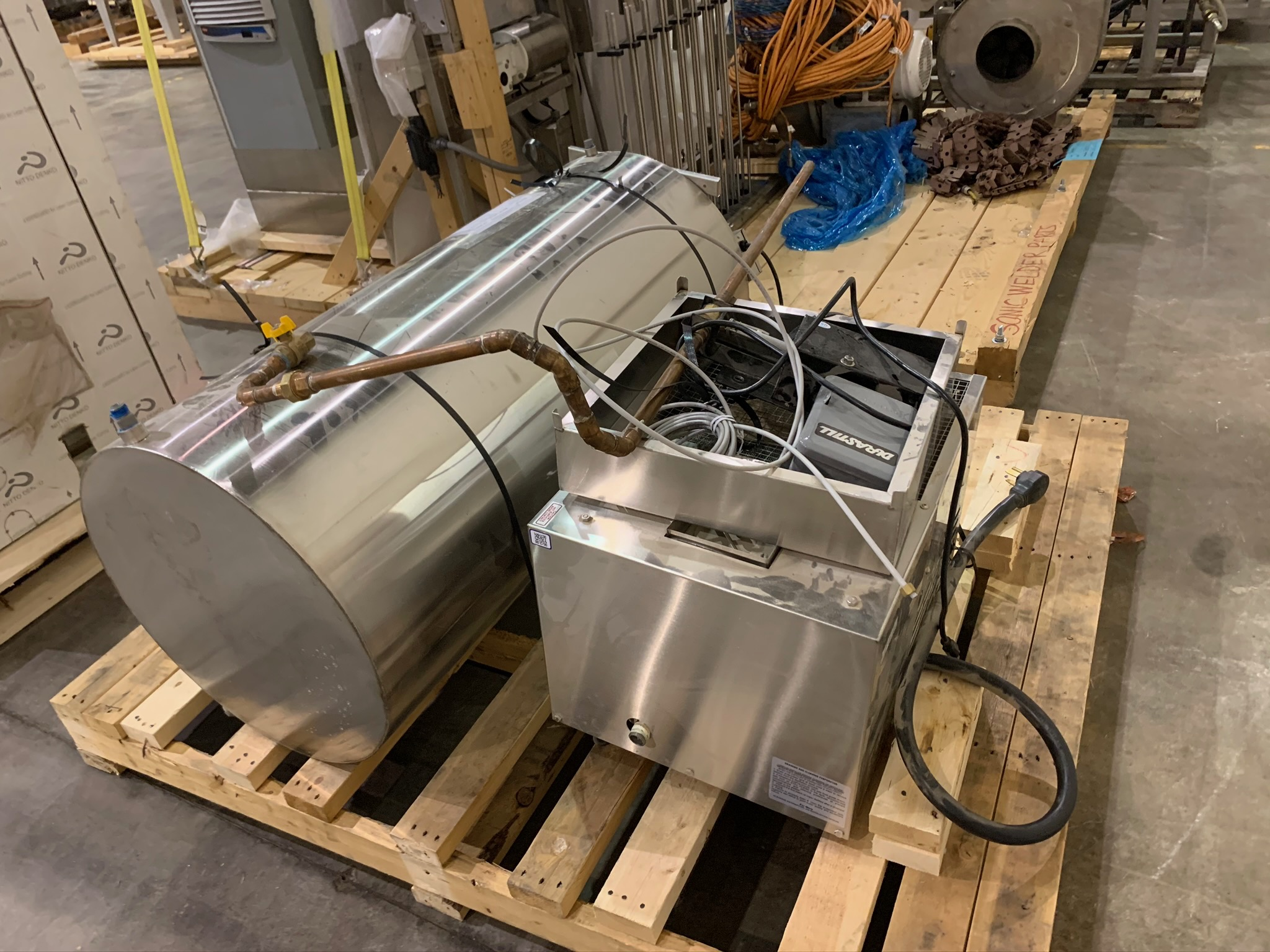 Durastill Water Distiller Model 42CJ14 S/N 100699 (Rigging Fee - $75) - Image 2 of 3