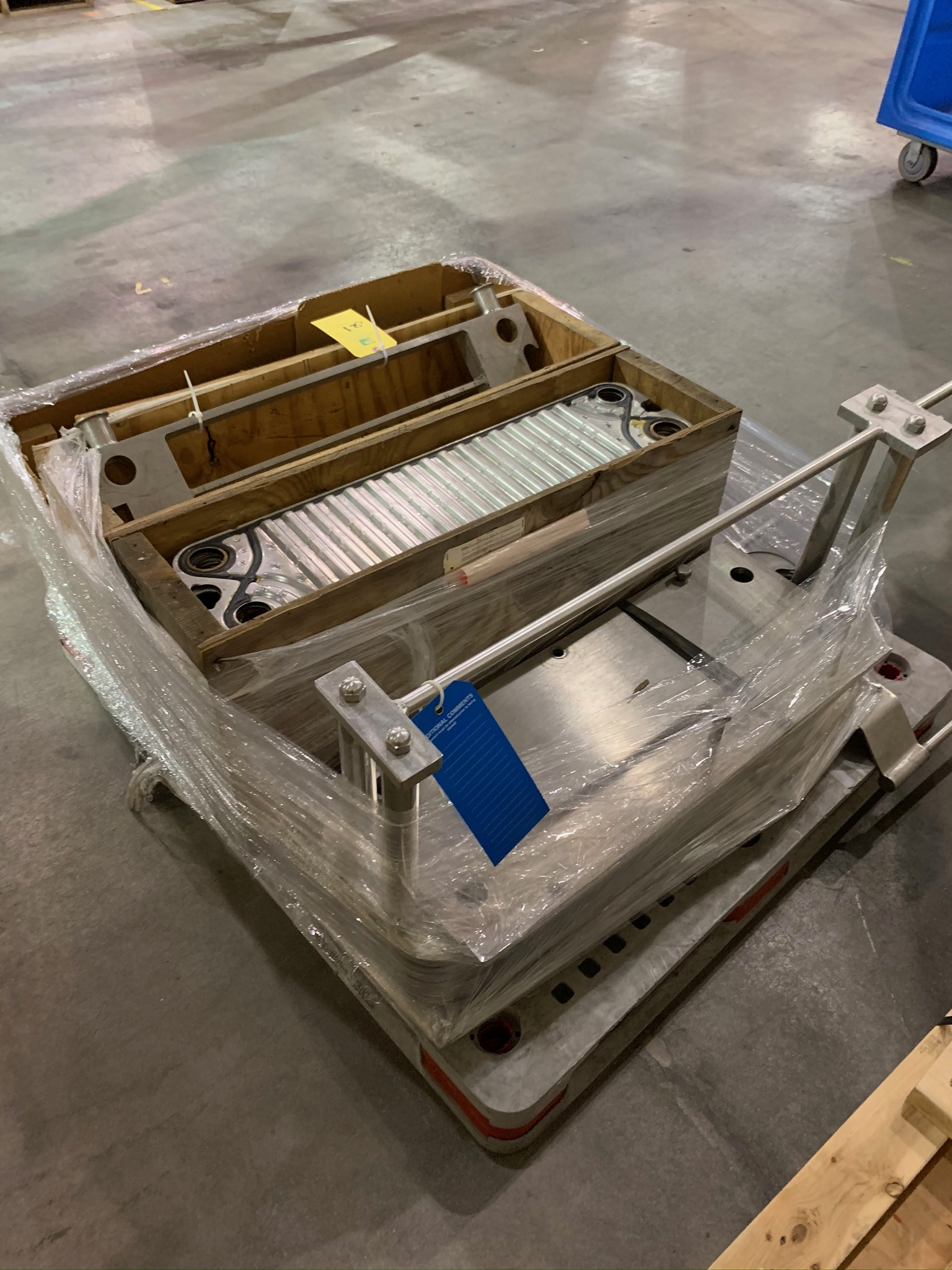 Chester Jensen Plate Heat Exchanger (Rigging Fee - $50) - Image 2 of 2
