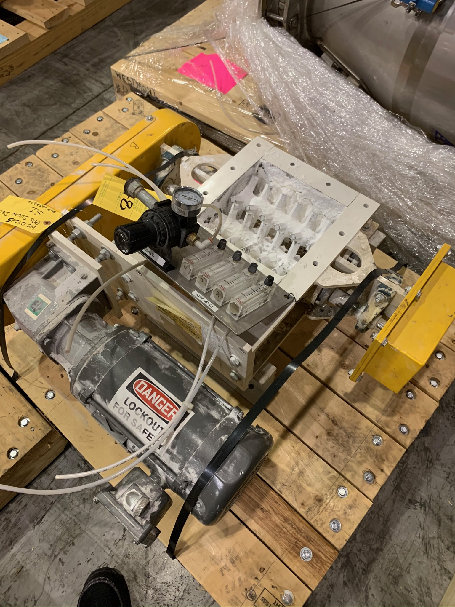 Lot 48 - PPS Sugar Delumper Model CS-99-DRL S/N 37321-2 (Rigging Fee - $50)