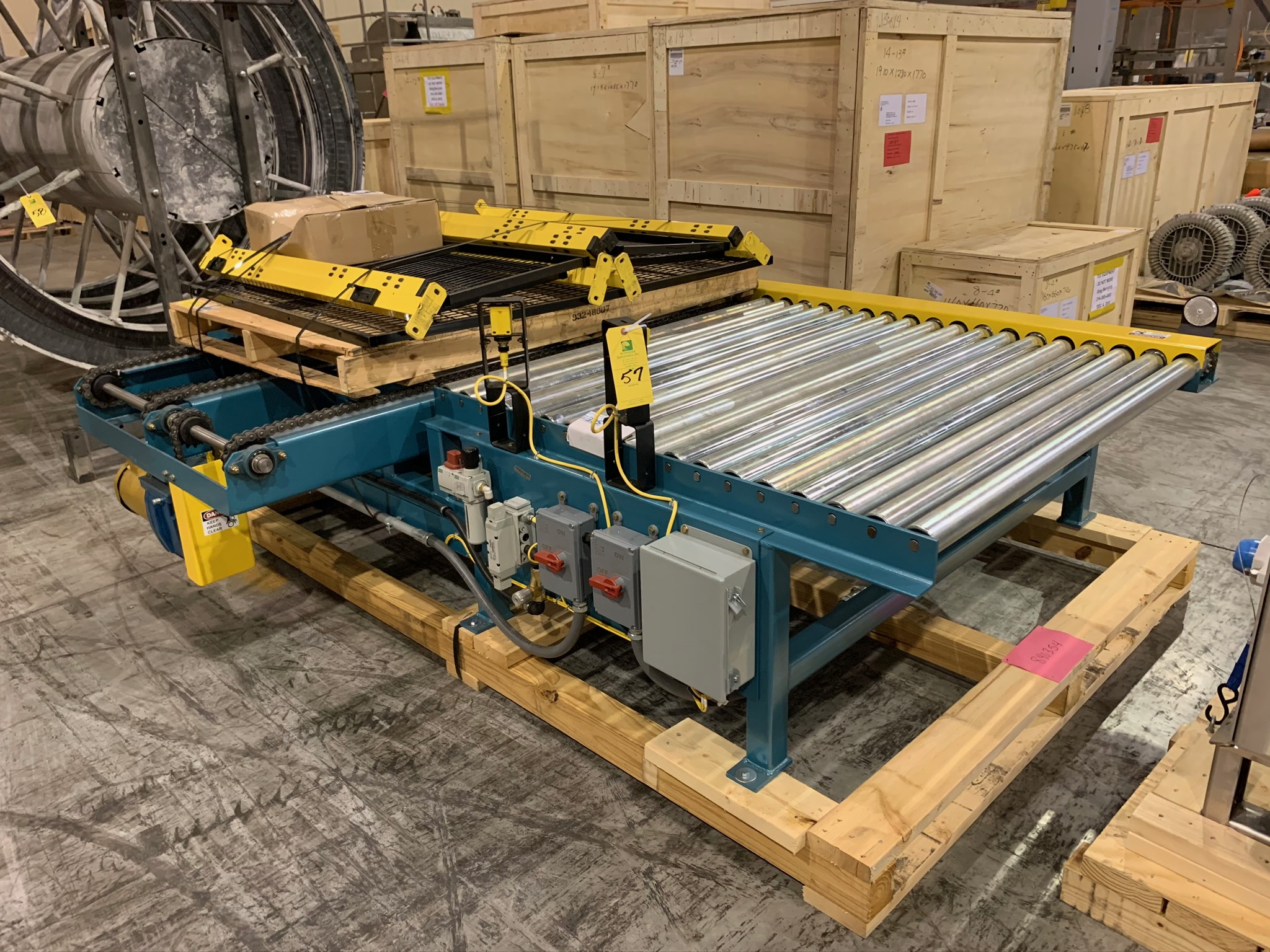 Kaufman Roller Conveyor with Cross Chain (Rigging Fee - $250) - Image 2 of 3