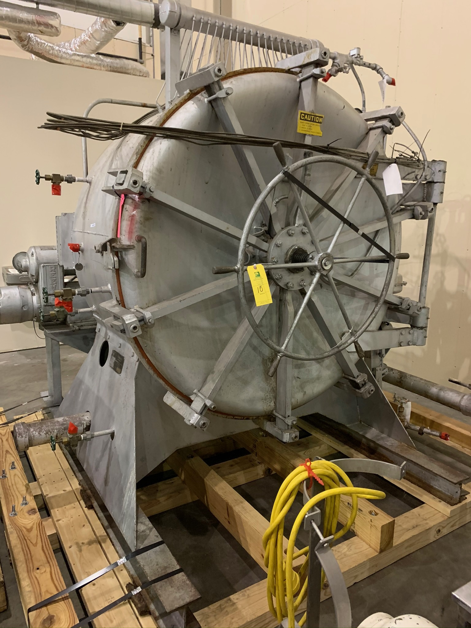 Lot 10 - FMC Steritort Rotary Sterlizer Lab Size Retort Unit S/N 36085172 (Rigging Fee - $300)