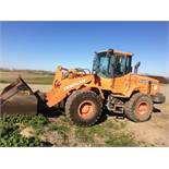 (Located In Sacramento, CA) Doosan Bucket Loader Model DL200 S/N DHKCWLACK95005218 Indicated Hours 9