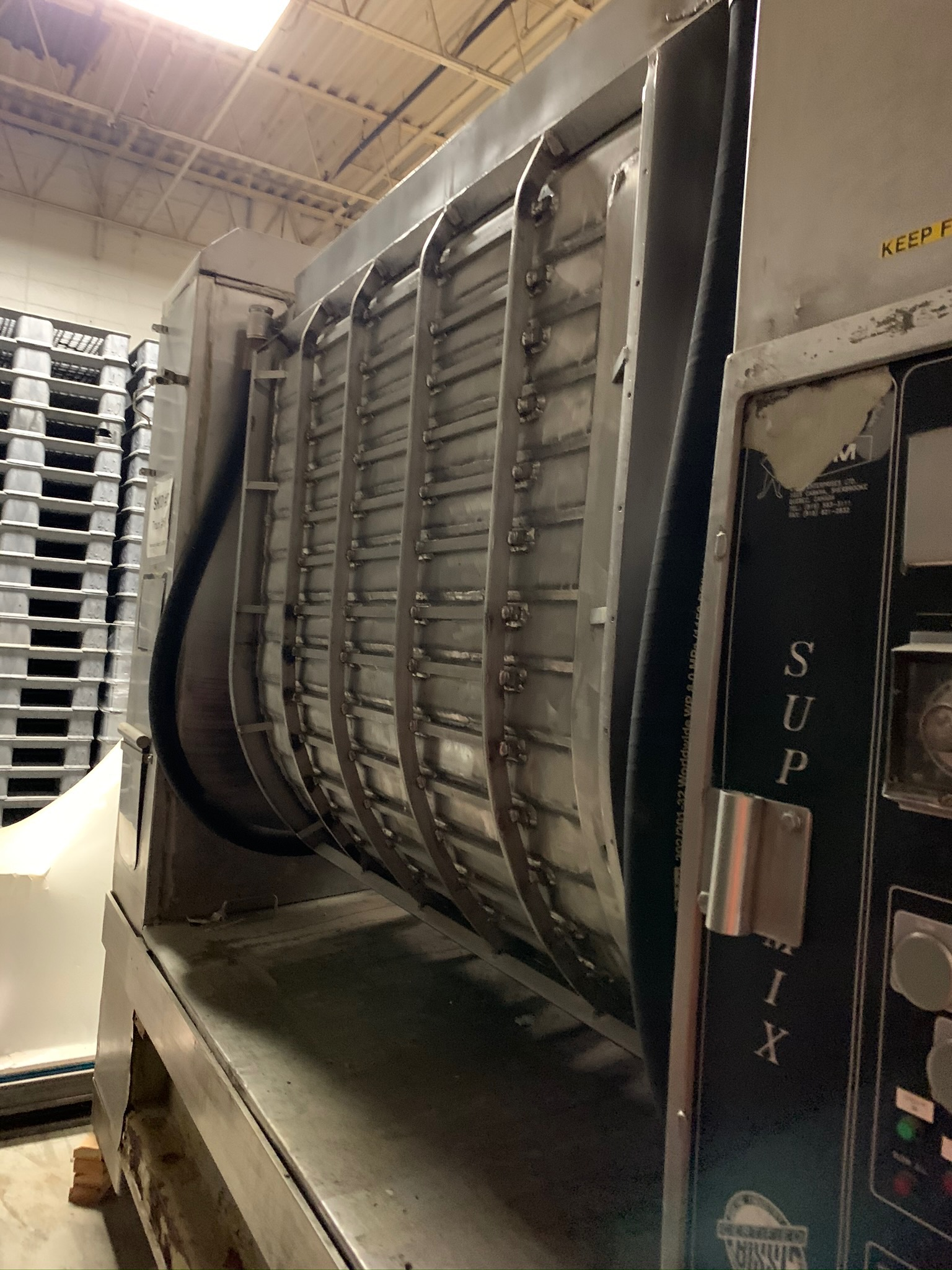 ETMW Roller Bar Mixer Model ETM-HI-TE 2000 Lb Capacity (Rigging Fee - $1600) - Image 2 of 6