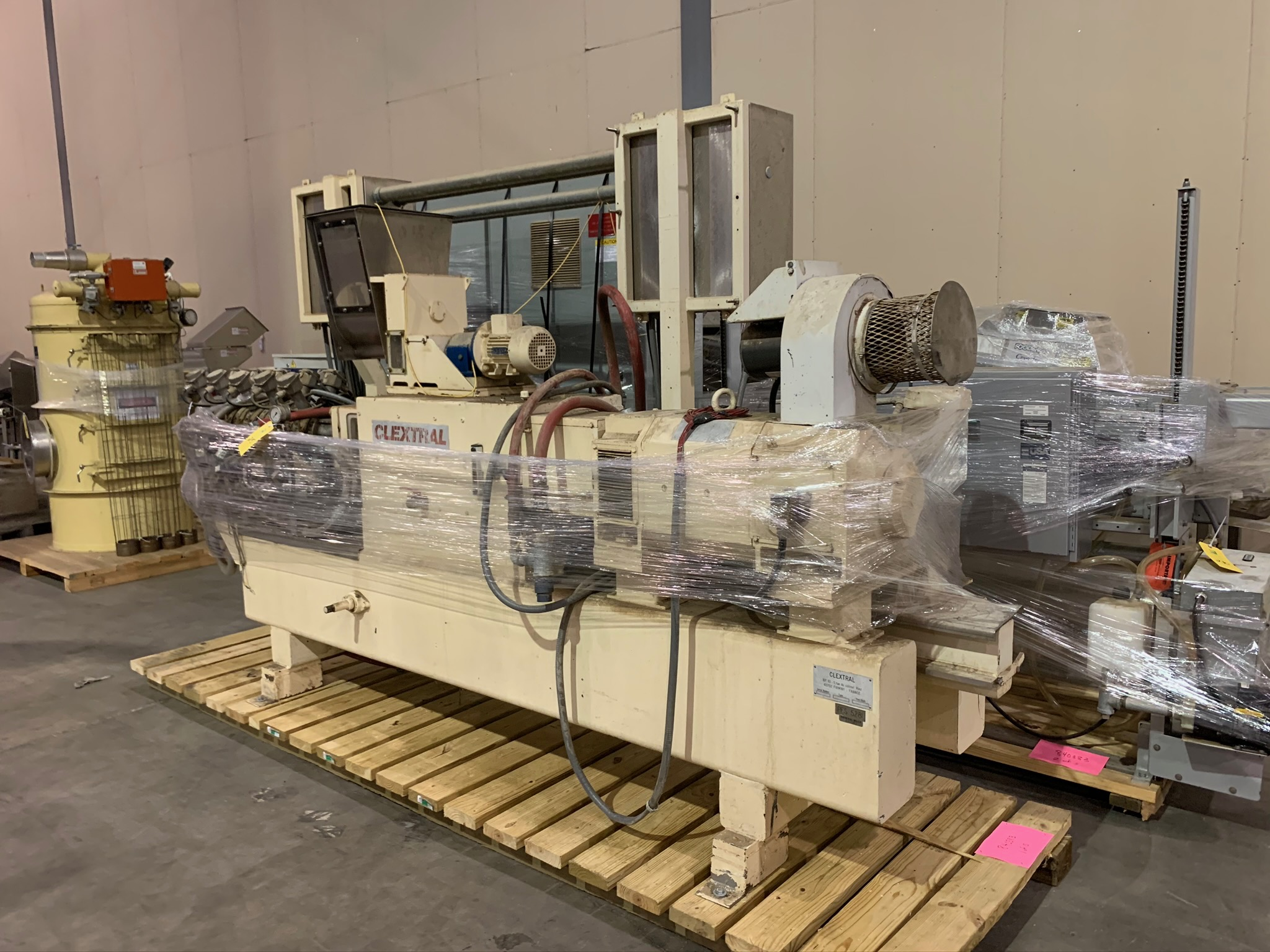 Clextral Extruder Model BC4 S/N 5100909 with Contol Panel and Air Dryer (Rigging Fee - $500) - Image 2 of 7
