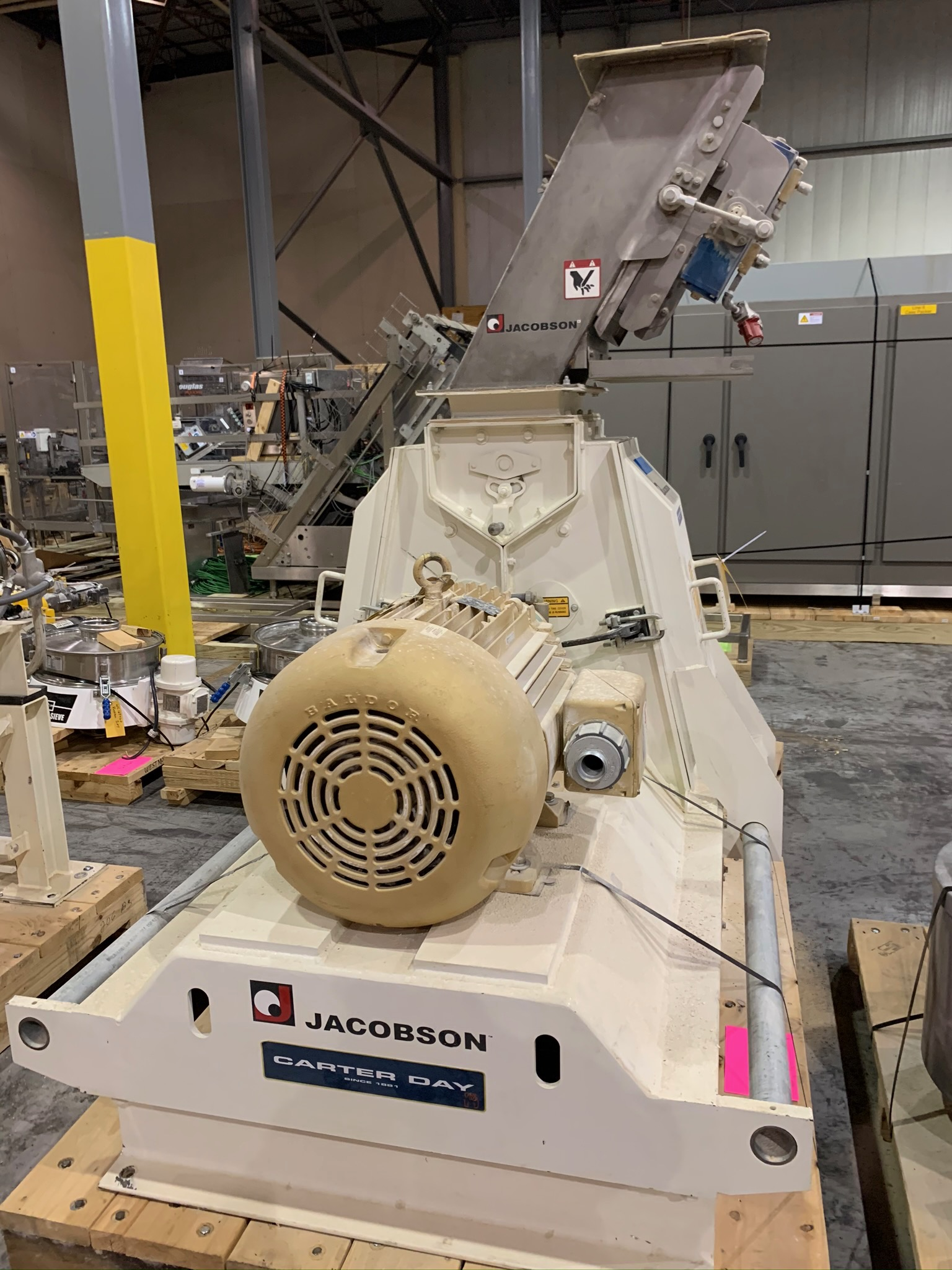 Lot 54 - Carter Day Jacobson Hammermill Style DLK1 S/N CDO14095 24313 XLT Hammermill 60 HP With Magnet (Riggi