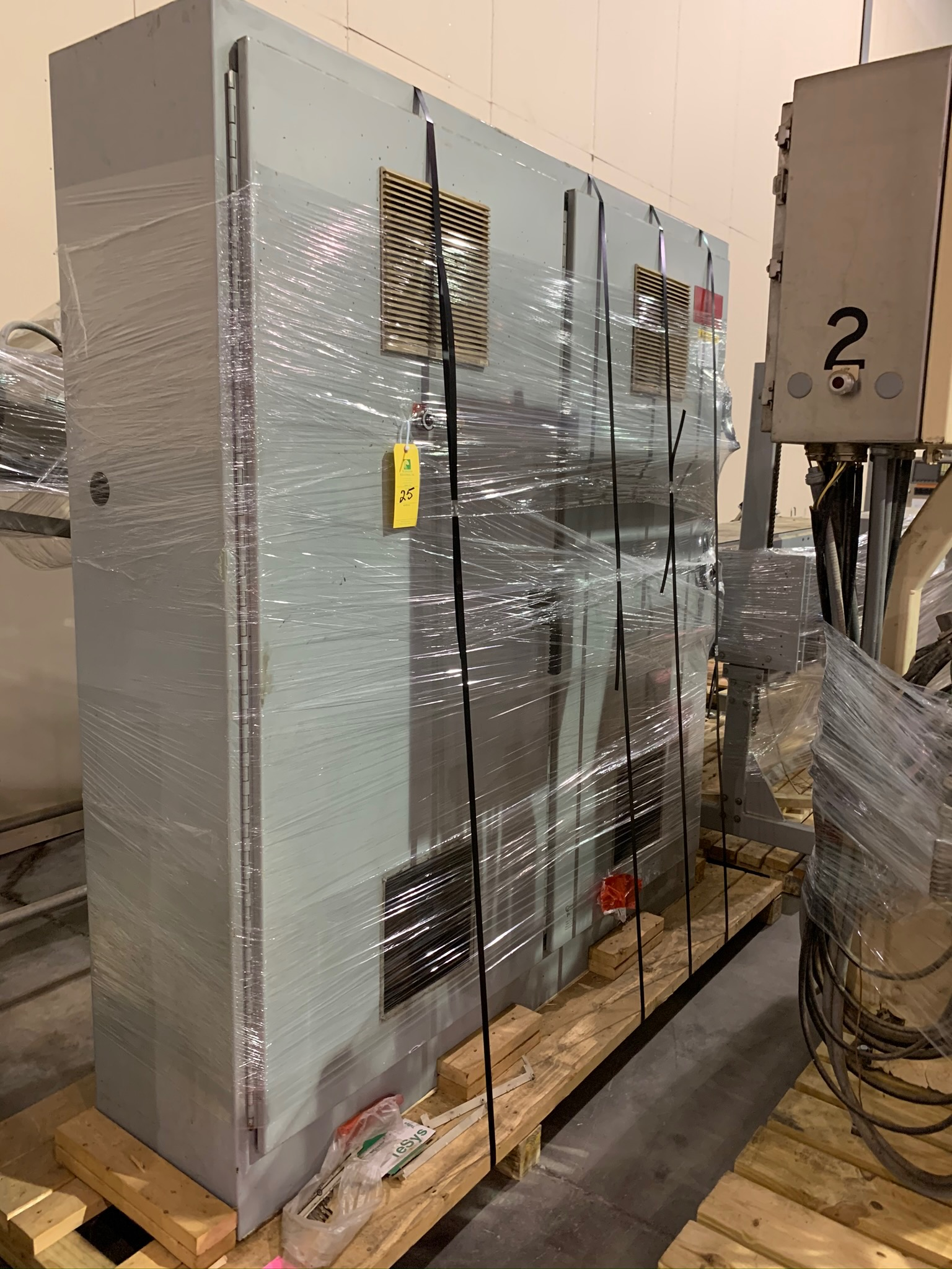 Clextral Extruder Model BC4 S/N 5100909 with Contol Panel and Air Dryer (Rigging Fee - $500) - Image 4 of 7