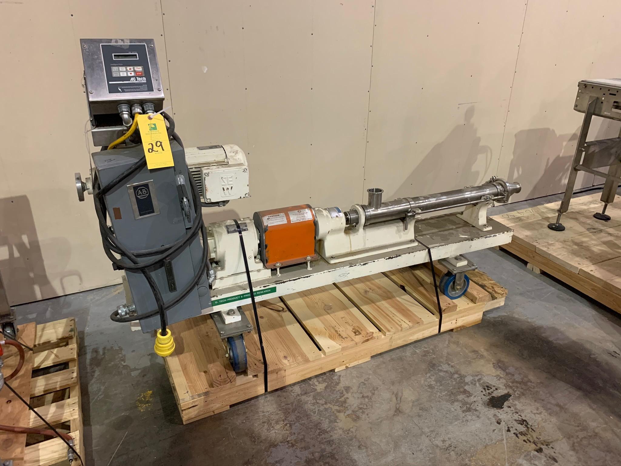 Moyno Progressing Cavity Pump Type 2FF6 SSE FAA S/N AM23758 (Rigging Fee - $50)