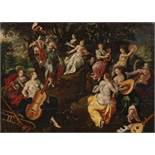 CLERCK, HENDRICK DEBrussels 1570 - 1629CircleTitle: Minerva and the Muses. After the painting by