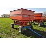 Killbros 357 gravity wagon on Killbros 1075 gear, extendable tongue, 12.5L-15SL tires