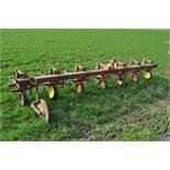"Westgo cultivator, 6-row, 30"" Danish tine, 3-pt"