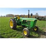 John Deere 4020 tractor, diesel, power shift, dual hydr, 3-pt, 540/1000 PTO, new 18.4-34 rears &