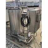 Stainelss Steel Brine Mixing Tank with Rotosolver Type Agitator and C | Rig Fee: $150 See Full Desc